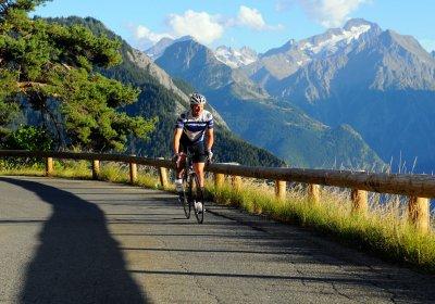 Alpe d'Huez, de bescheiden beklimming