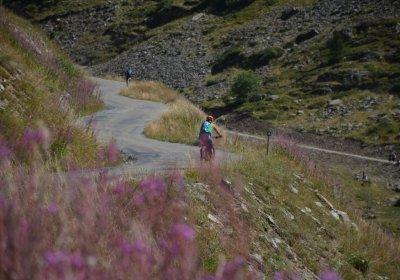 Alpe d'Huez : De gorges de Sarenne met de e-bike
