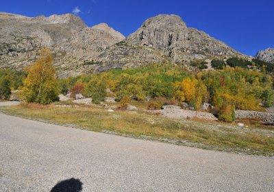De weg naar la Bérarde met de e-bike